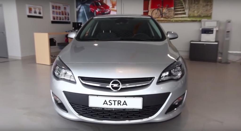 Тест-драйв Opel Astra J в Москве у официального дилера FAVORIT MOTORS